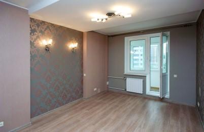 Косметический ремонт в квартире 33 м2